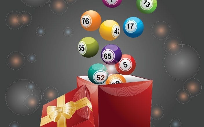 Lottery as a gift