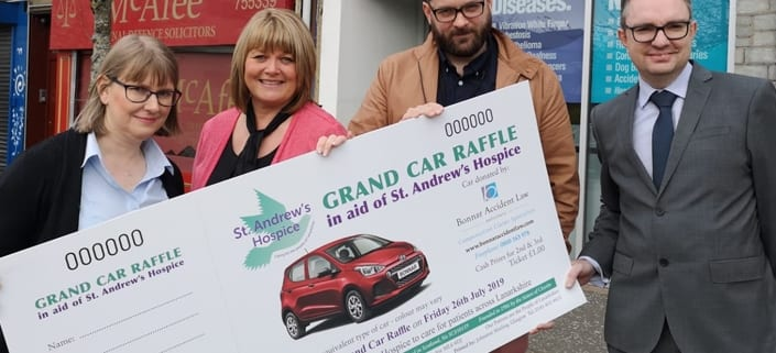 Grand Car Raffle: 26 July 2019 - St Andrews Hospice