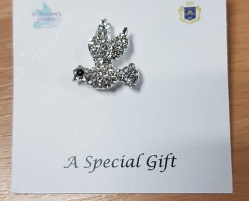 Bling Dove Pin: £2